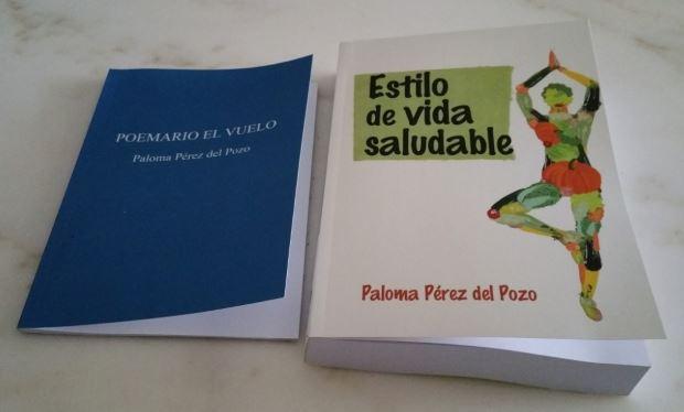 Imagen de los dos libros que Paloma Pérez del Pozo va a presentar en Alcobendas