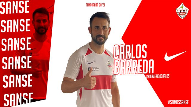 Carlos Barreda se une a las filas del Sanse