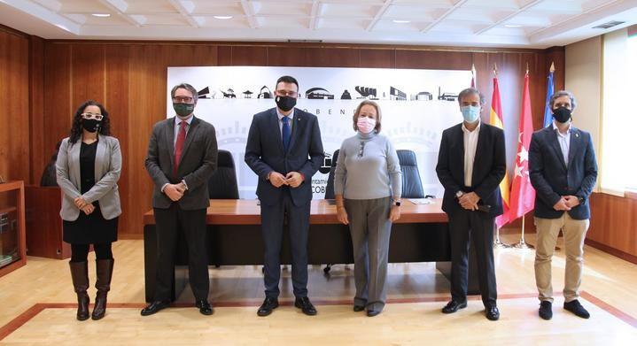 El Ayuntamiento de Alcobendas firma con las cinco Entidades de Conservación los convenios de 2020