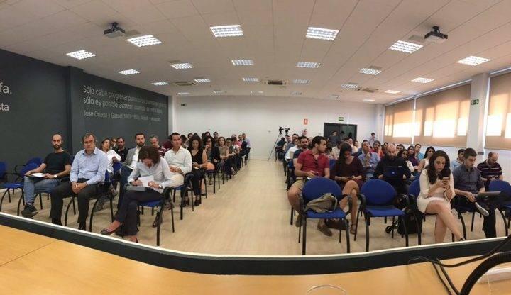 Imagen del primer encuentro Media Startups con los medios de comunicación celebrado en Vicalvaro en el año 2016