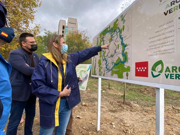 La Comunidad de Madrid comienza las obras de conectividad Arco Verde en Alcobendas