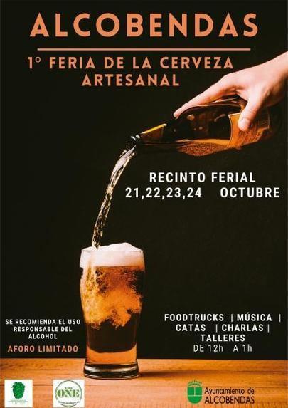 Llega la 1ª Feria de la Cerveza Artesanal a Alcobendas