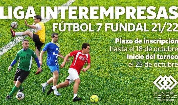 Abierto el plazo de inscripciones de la Liga Interempresas de Fútbol-7 FUNDAL