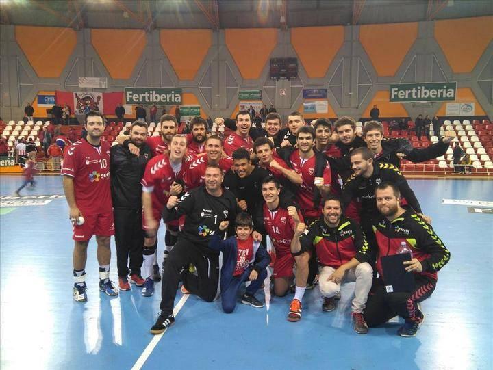 El Secin Group Alcobendas pasa a octavos de la Copa SM El Rey de balonmano