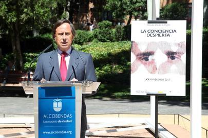 Homenaje a Miguel Ángel Blanco en Alcobendas