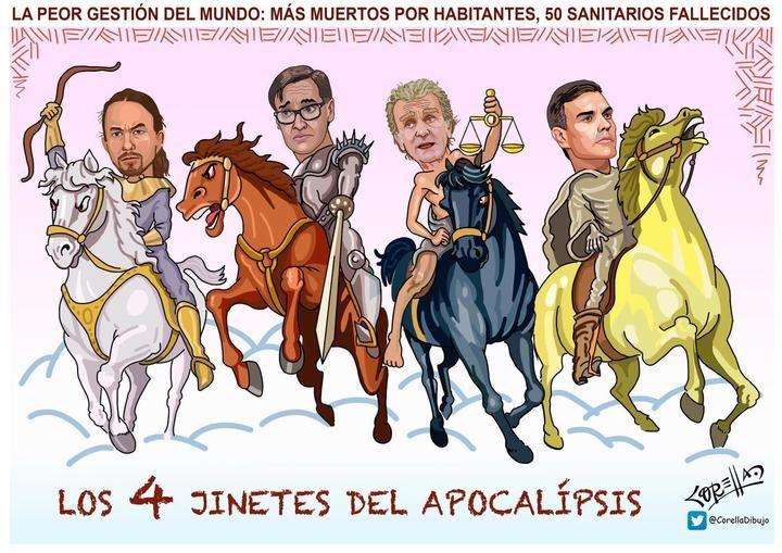 Los cuatro jinetes del apocalípsis