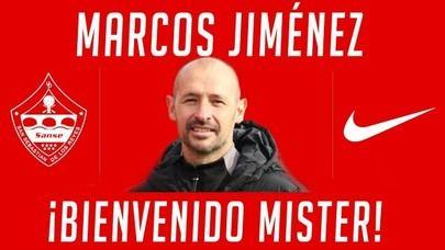 Marcos Jiménez nuevo entrenador de la U.D. Sanse