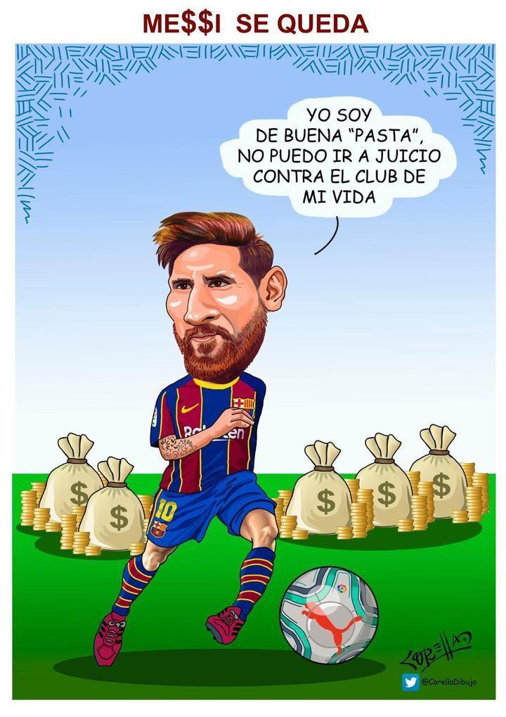 ``Messi se queda´´