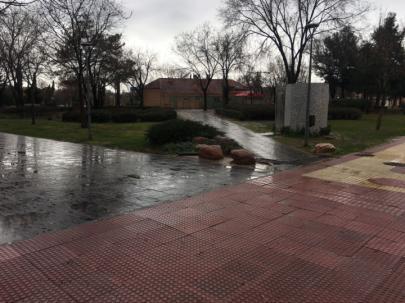 Fuerte tormenta en Alcobendas y San Sebastián de los Reyes con inundaciones incluidas