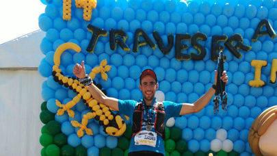 Imagen del Ultra Fondista, Iván Alonso, atleta con Leucemia que está recorriendo los 1.000 kilómetros y que llegará a Alcobendas en la quinta etapa de la prueba solidaria.