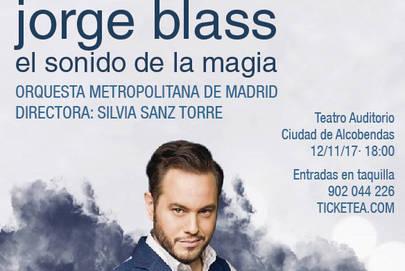 Magia con Jorge Blass y la Orquesta Metropolitana en Alcobendas