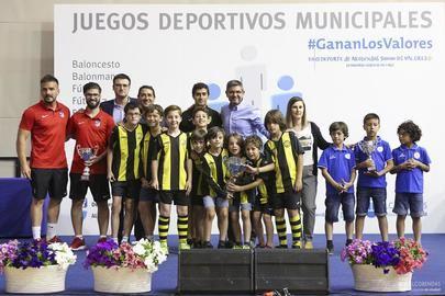 Se da por concluida la temporada de los `juegos deportivos municipales de Alcobendas y San Sebastían de los Reyes´