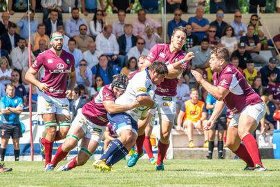 Primer partido del Lexus Alcobendas Rugby en Las Terrazas