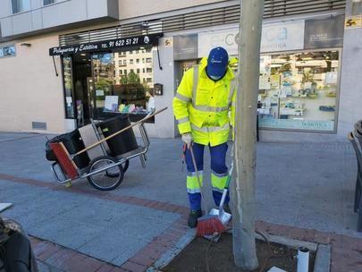 Se duplican los operarios de limpieza del Distrito Norte