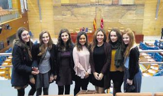 Los Sauces en la Asamblea de Madrid