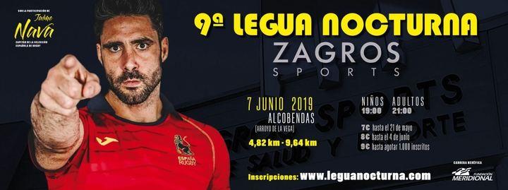 Novena Legua Nocturna Zagros Sports
