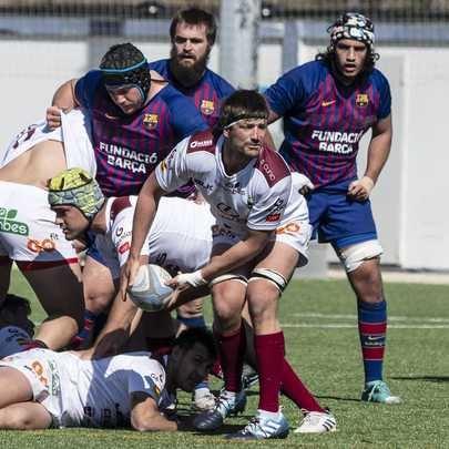 El Lexus Alcobendas Rugby venció este domingo al Barça Rugbi