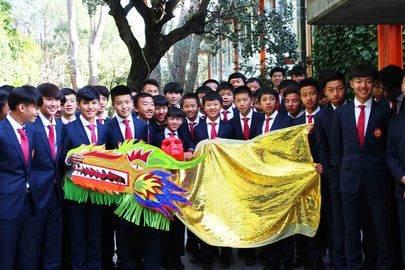 Bienvenida al año chino en el Liceo Europeo
