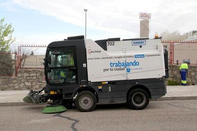 Más rutas de los servicios de limpieza para el polígono industrial