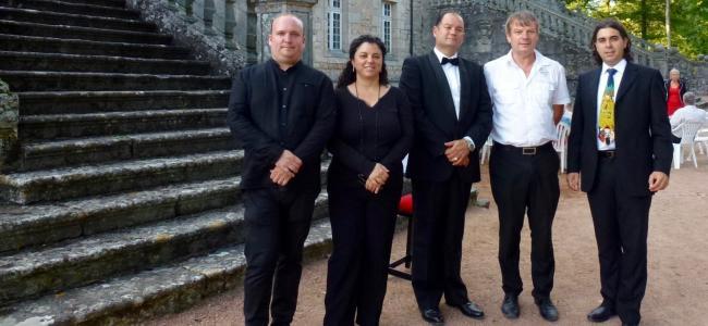 Concierto de Los músicos de los castillos de la Borgogna en Alcobendas