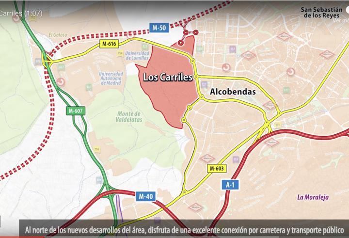 En marcha el plan urbanistico de 'Los Carriles'