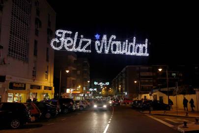 1.113 motivos navideños iluminan las calles de Alcobendas