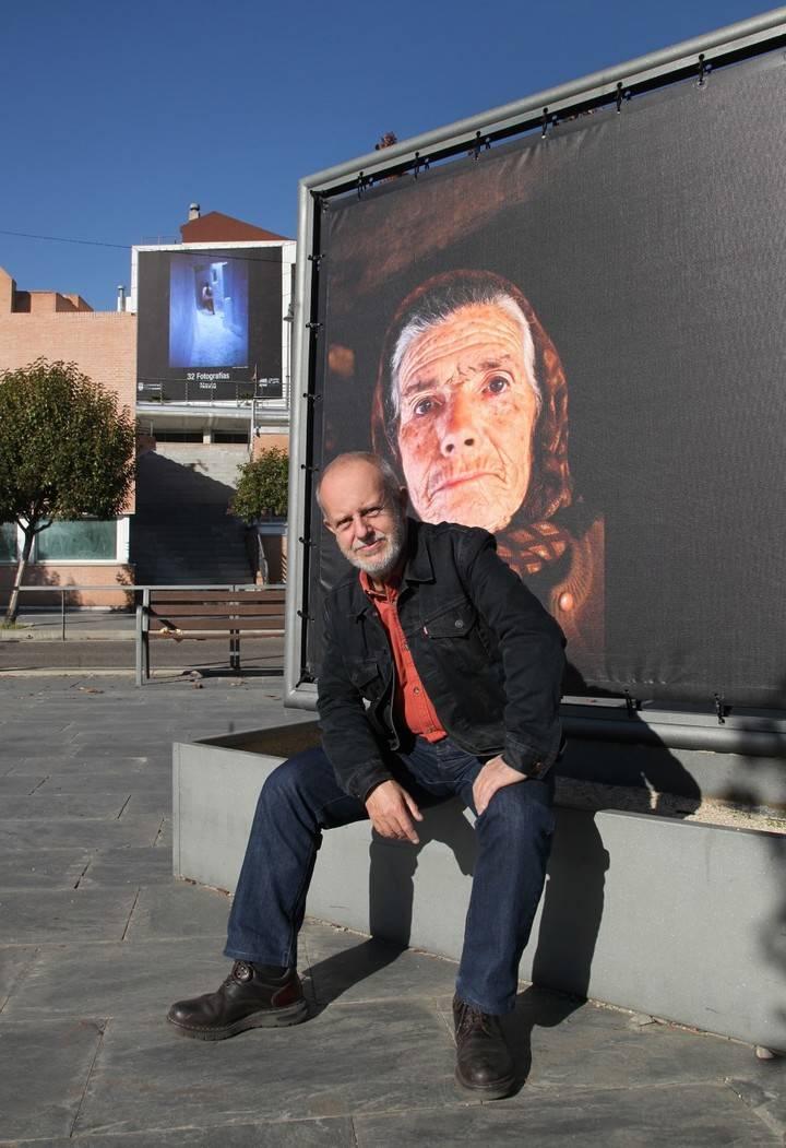 Imagen de José Manuel Navia en el Bulevar Salvador Allende de Alcobendas