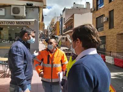 Comienzan las obras de remodelación en cuatro calles del Distrito Centro