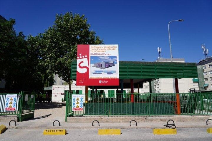 Sanse dedica reforma las infraestructuras escolares durante el verano