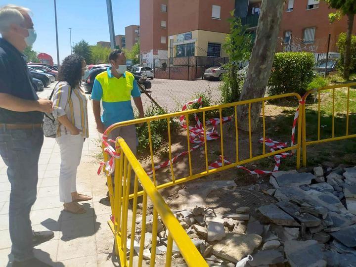 Mejoras de pavimientos en barrios de Alcobendas