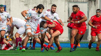El Lexus Alcobendas Rugby pierde su segundo partido en esta temporada
