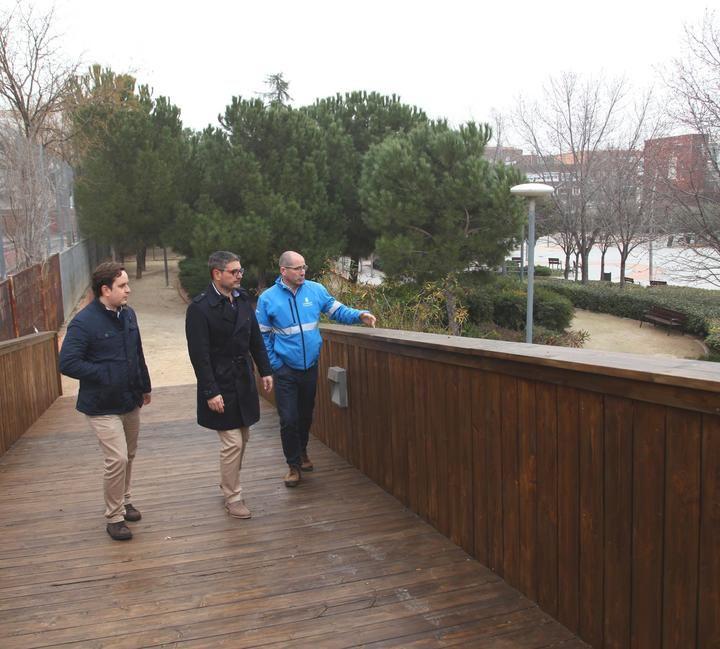 Se invierten 50.000 euros en el acondicionamiento del Parque de Cataluña