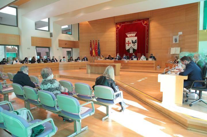 Sesión ordinaria del pleno de Ayuntamiento de Alcobendas