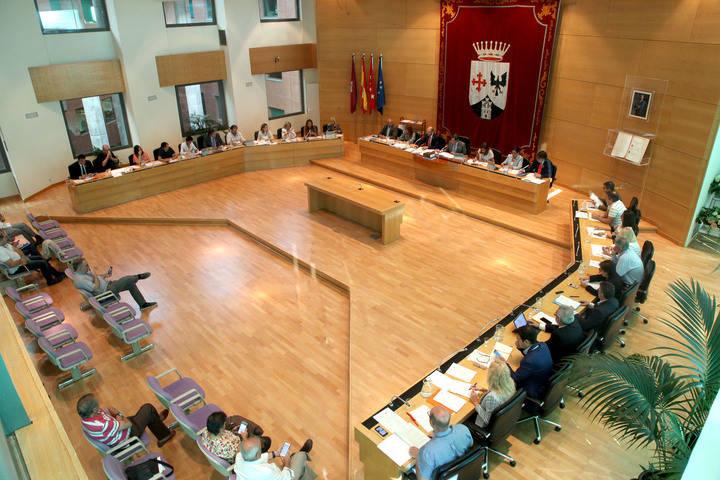 Alcobendas aprueba una moción de apoyo al Gobierno frente al desafío catalán