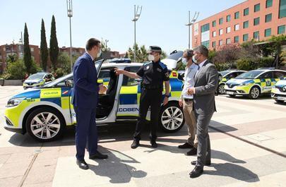 La Policia Local de Alcobendas renueva su flota de vehiculos patrulla