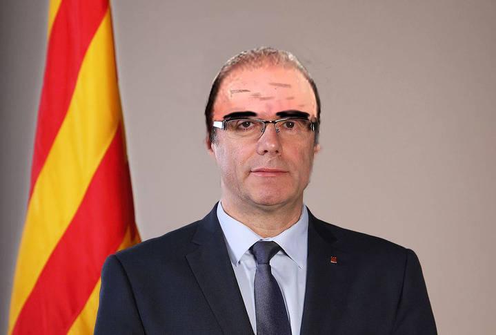 Puigdemon se quitó la peluca
