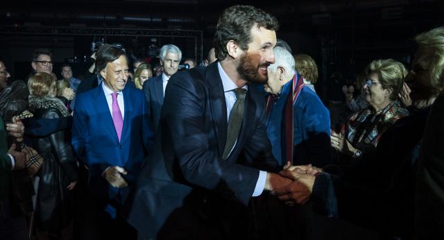 Pablo Casado da una lección de estadista en Alcobendas