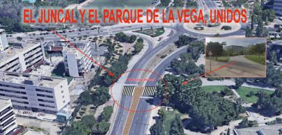 El Parque de La Vega se une a la zona de El Juncal