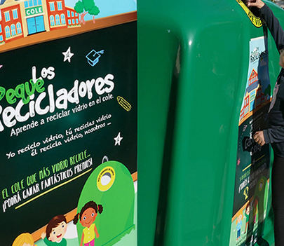 Los alumnos del Colegio Tempranales reconocidos por sus iniciativas de reciclaje