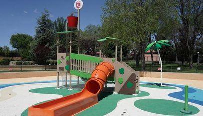 Nueva zona de juegos acuáticos para los más pequeños