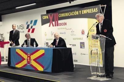 XII Copa Comunicación , coches y golf se dan la mano