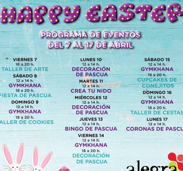 Semana Santa llena de planes y diversión en Alegra, San Sebastián de los Reyes