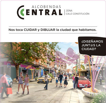 """Los vecinos realizan aportaciones al proyecto """"Alcobendas Central"""""""