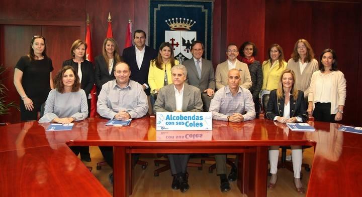 El Ayuntamiento de Alcobendas se reúne con los directores de los centros educativos públicos