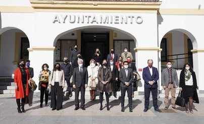 Reyes Maroto destaca el esfuerzo del gobierno municipal para apoyar las empresas