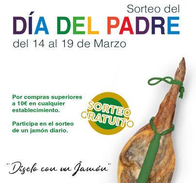 El Centro Comercial El Encinar celebra el Día del Padre con un sorteo de Jamones
