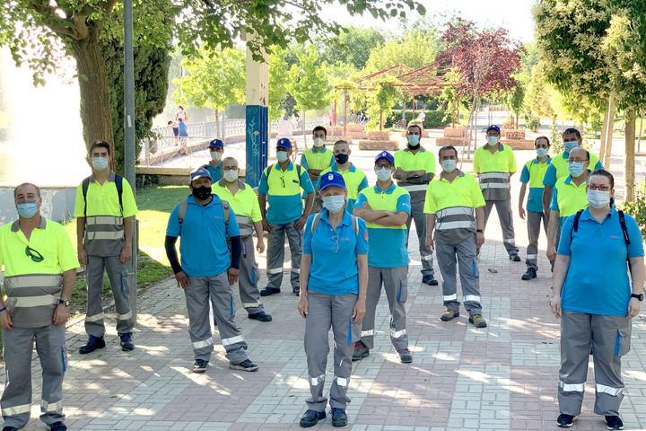 Alcobendas contrata a 22 trabajadores para reforzar la campaña municipal de limpieza