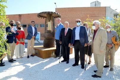 Alcobendas, la primera ciudad del mundo con un monumento dedicado al sprinkler