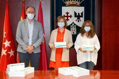 La farmacéutica Suanfarma dona a Alcobendas 1.000 test serológicos rápidos