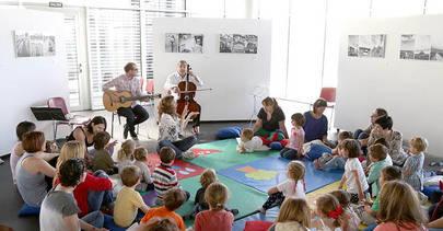 Nuevos talleres gratuitos 'Música para peques' en Alcobendas